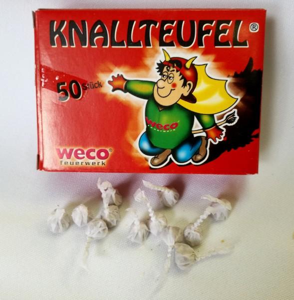 Höllenknall (Knallteufel) 50 Stück Packung