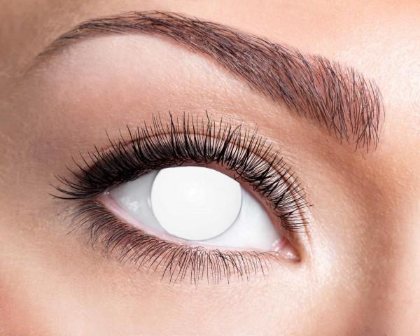 Kontaktlinsen blinde wihte 3 Monate