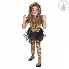 Leoparden Kleid Größe 140