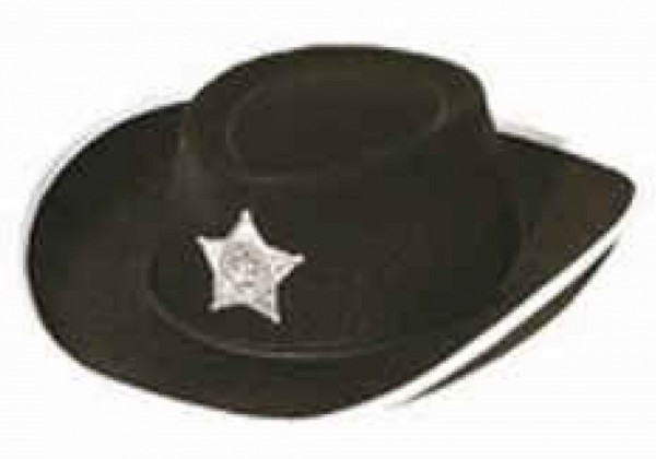 Cowboy Hut für Kinder schwarz
