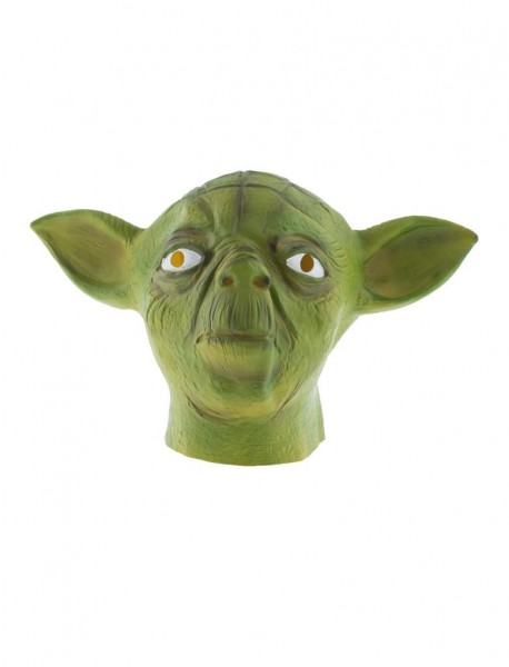 Yoda Gummi Maske für Erwachsene