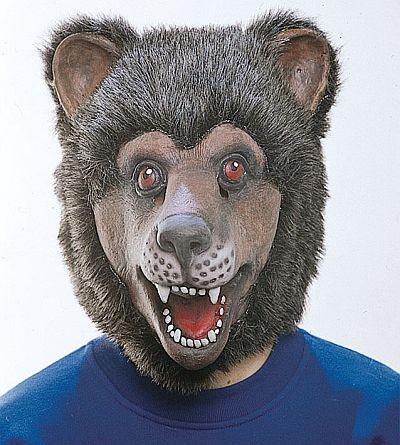 Gummimaske Bär
