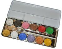 Bodypainting Malkasten mit 12 Farben