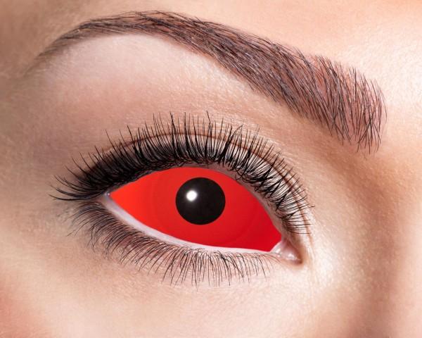 Kontaktlinsen Sclera red
