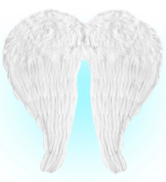 Engelsflügel weiss ca. 67x64cm groß