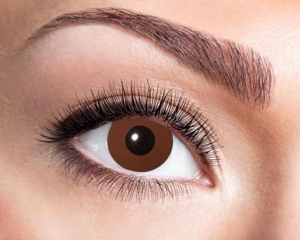 Kontaktlinsen braun