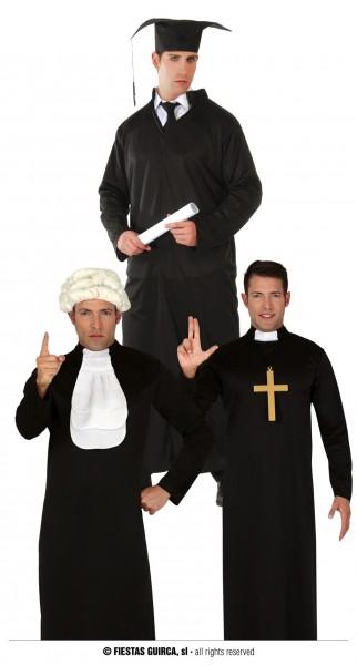 Talar Priester, Student oder Richter LARGE 52-54