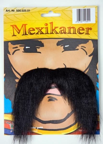 Mexikanerbart schwarz