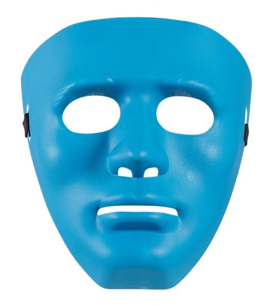 Maske ganzes Gesicht blau