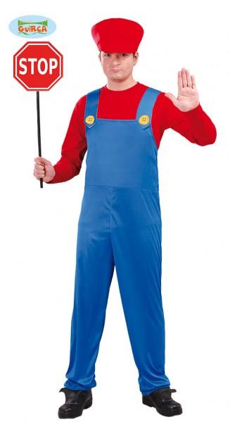 Mario Kostüm für Erwachsene LARGE