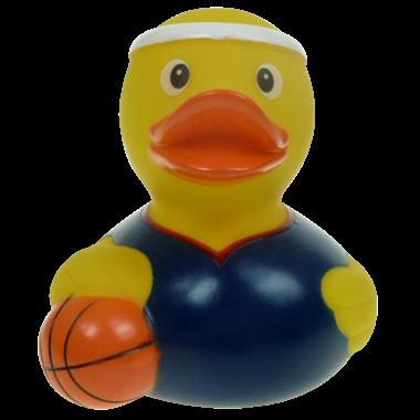 Basketball Badeente 8cm