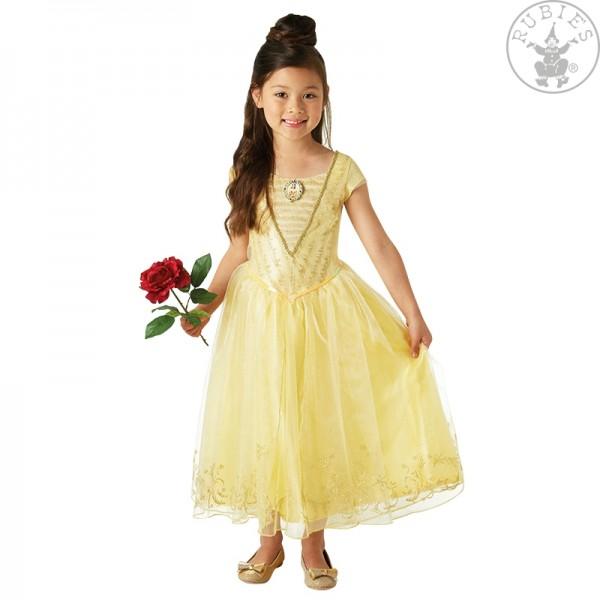 """BELLE """"Die Schöne"""" gelbes Kleid LARGE für Kinder"""