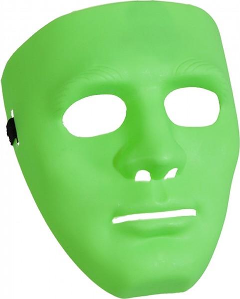 Maske grün ganzes Gesicht
