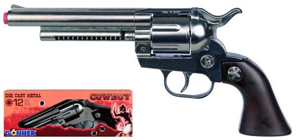 Cowboy Revolver Metall für 12 Schuss Munition