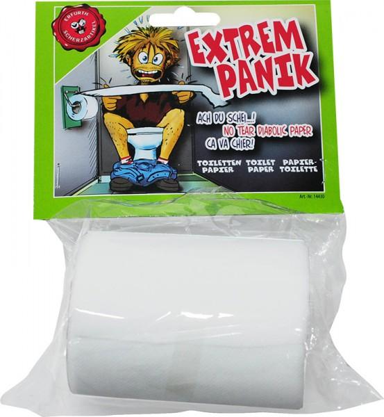 Nicht zerreisbares Toilettenpapier