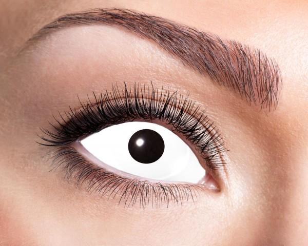 Kontaktlinsen Sclera white