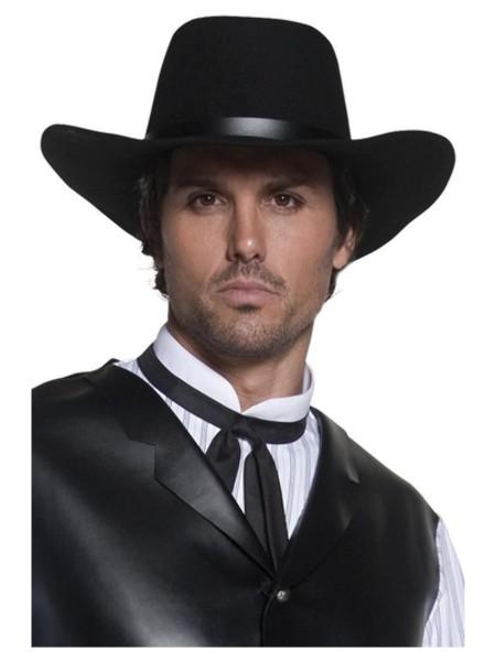 Western Cowboy Hut schwarz