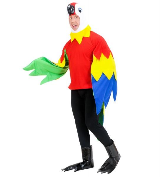 Papagei Kostüm SMALL