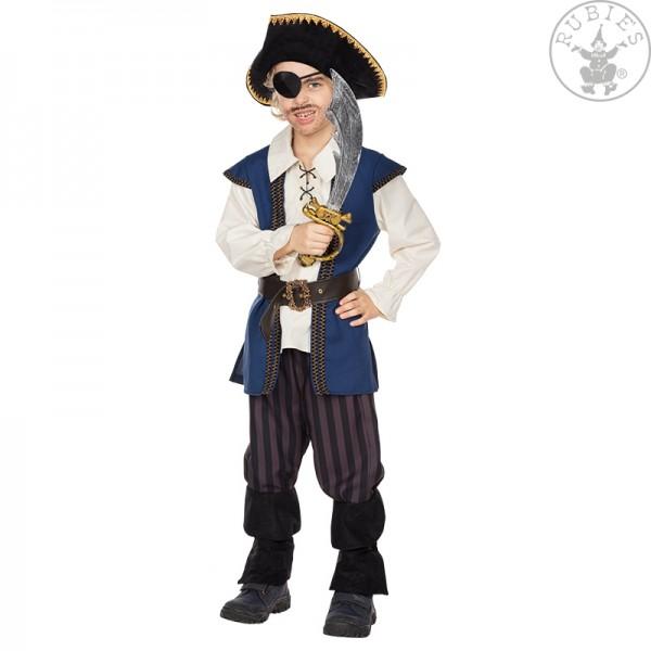 Piratenkostüm Jack Größe 140 3teilig