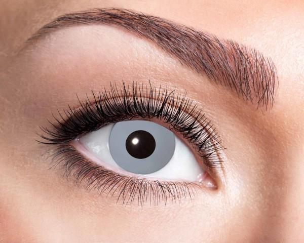 Kontaktlinsen grau Vampir 3 Monate