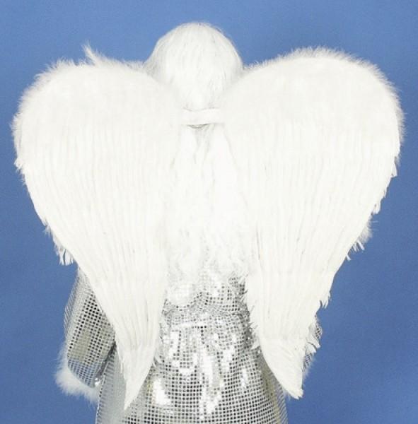 Engelsflügel mit weißen Federn 50x40cm