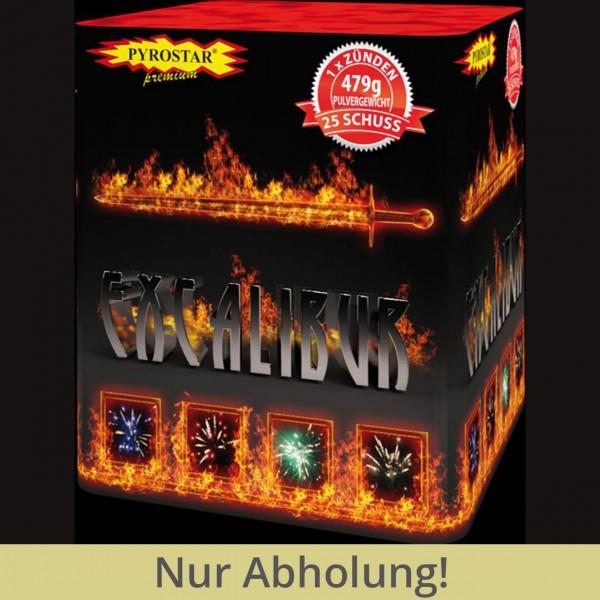 Excalibur 25 Schuss Batterie Feuerwerk