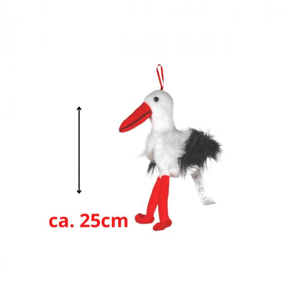 Plüsch Storch ca. 25cm