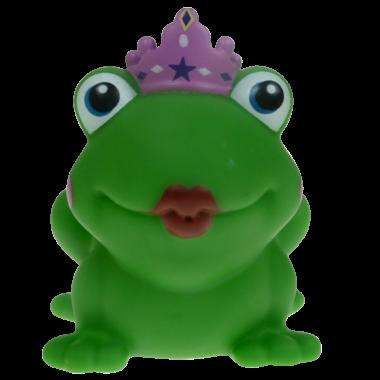 Badetier Froschkönigin 8cm