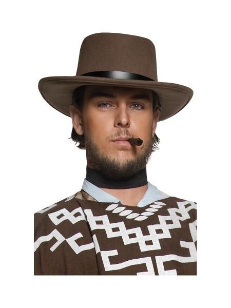 Cowboy Hut braun für Erwachsene
