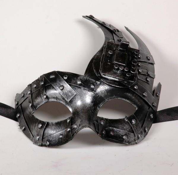 Steampunk Maske silber ONDA Venezia