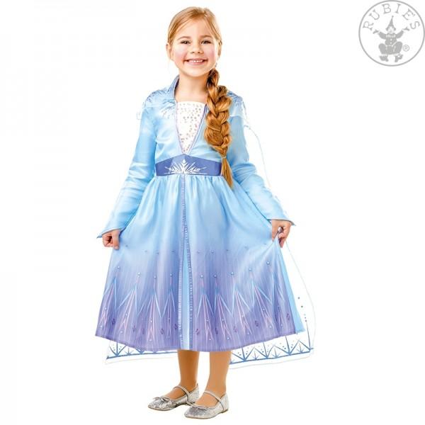 Elsa Frozen 2 Kleid LARGE für Kinder Classic