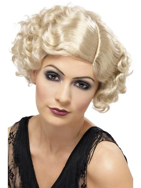 Perücke 20er Jahre blond