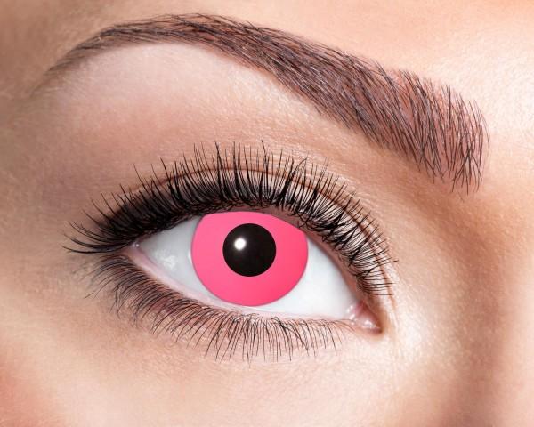 Kontaktlinsen pink