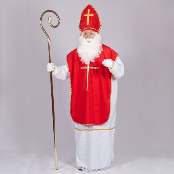 Nikolaus Kostüm Komplett Set Angebot 5teilig