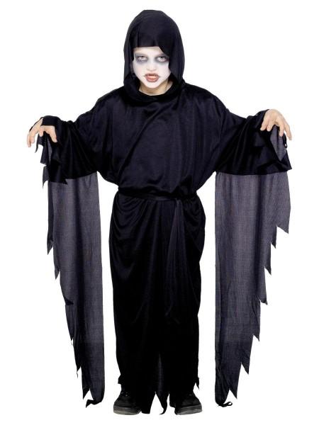 Screamer Kostüm schwarz für Kinder LARGE