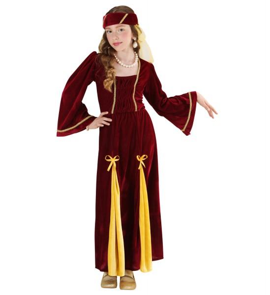 Mittelalter Prinzessin Kleid für Kinder Größe 158