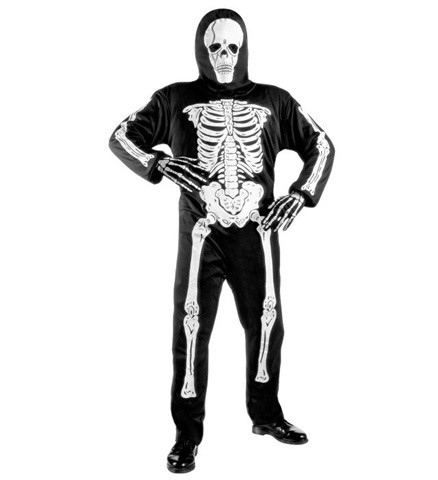 Skelett Overall Größe 128