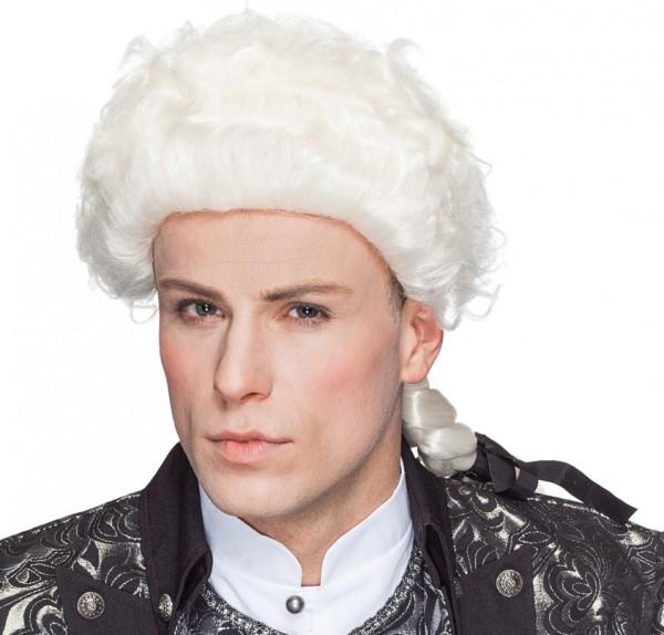 Amadeus Perücke weiss