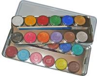 Bodypainting Malkasten 24 Farben