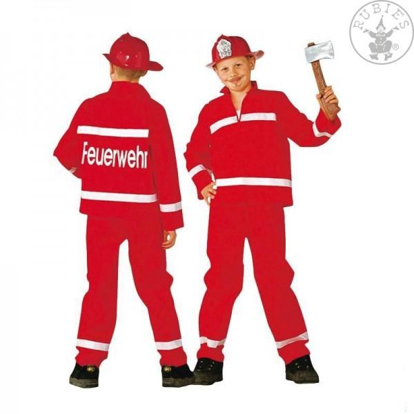 Feuerwehrmann rot 2teilig Größe 152