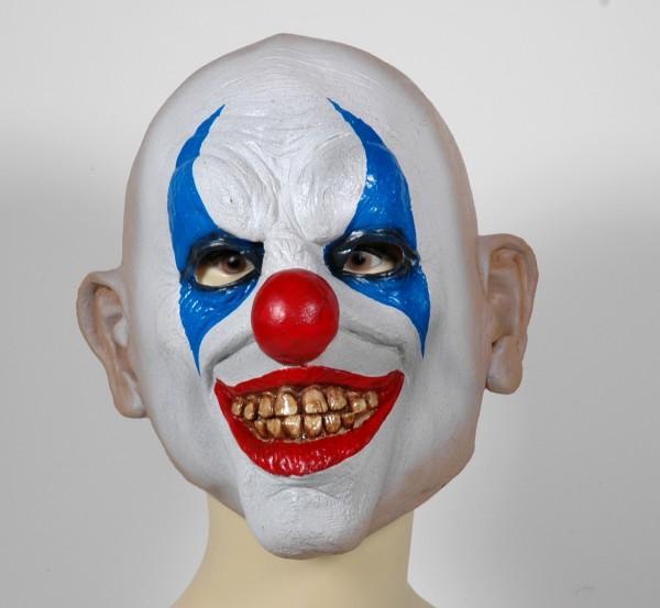 Psycho Clown Maske des Grauens 27218