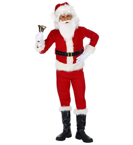 Weihnachtsmann Kostüm für Kinder Größe 140