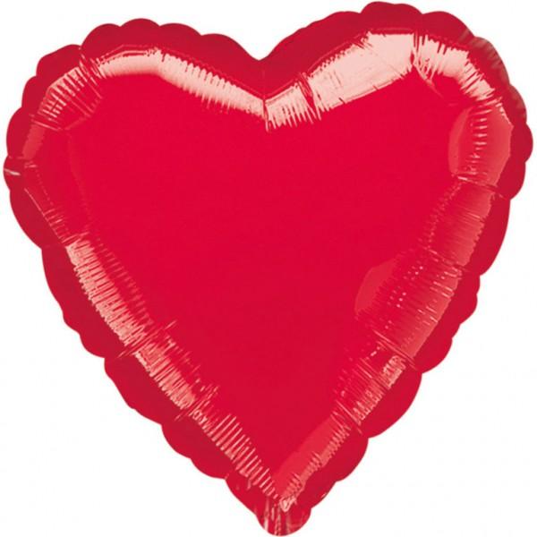 Großer roter Herz Ballon