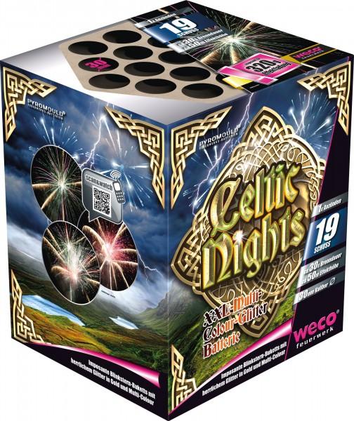 Feuerwerk Batterie Celtic Nights 19Schuß