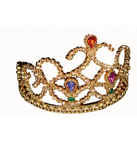 Königin Diadem gold (50214)