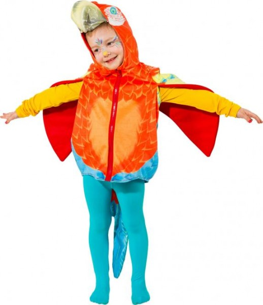 Papagei Kostüm Größe 104