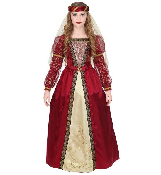 Burgfräulein Kleid für Kinder Größe 140