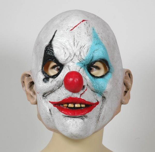 Psycho Clown Horror Maske aus Latex