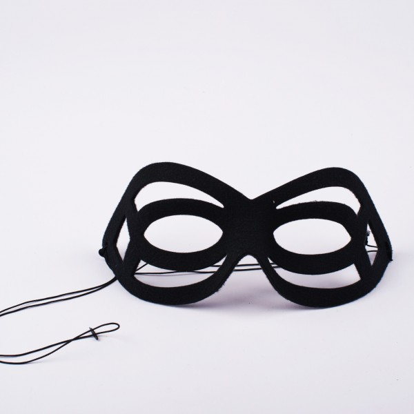 Augenmaske schwarz Elegance