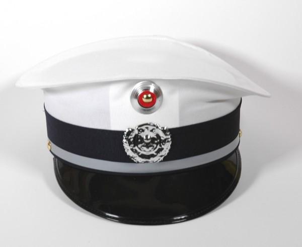Polizeimütze weiß/blau für Kinder
